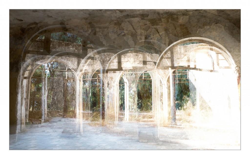 Das alte Lungensanatorium in Eleoussa (Rhodos)