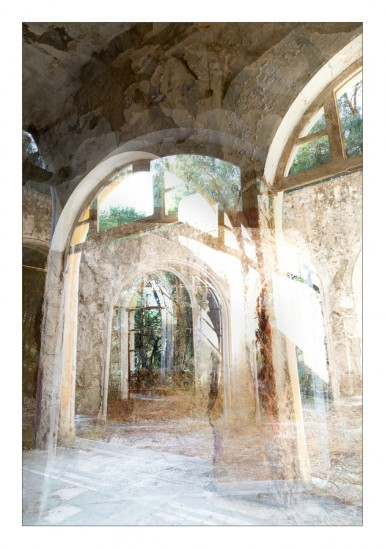 Das alte Lungensanatorium in Eleoussa, Rhodos
