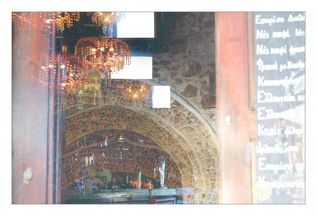 Kleine Bar in der Altstadt von Rhodos-Stadt